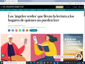 Nuestro programa LeerteQuiero en la prensa: El Independiente